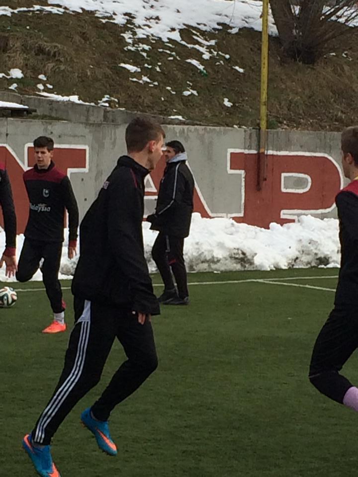 Pregedate slike iz članka: Sapnjak u FK Sarajevu