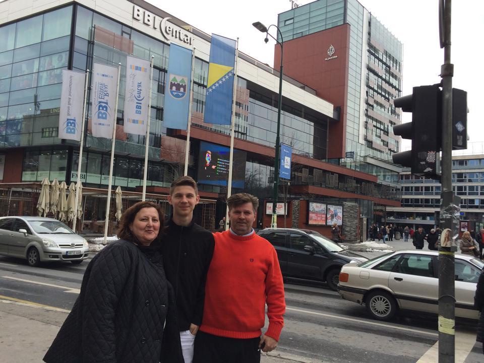 Pregedate slike iz ?lanka: Sapnjak u FK Sarajevu